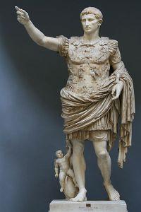 初代皇帝アウグストス
